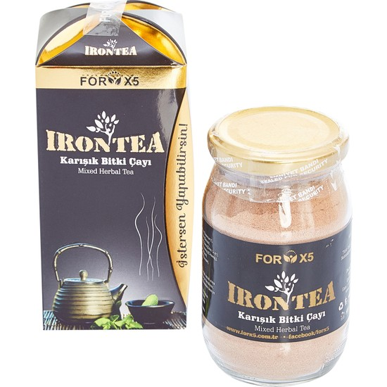 Forx5 Irontea Karışık Bitki Çayı 250 gr