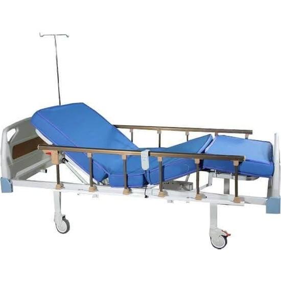 Emek Sağlık 2 Motorlu Abs Başlıklı Hasta Karyolası