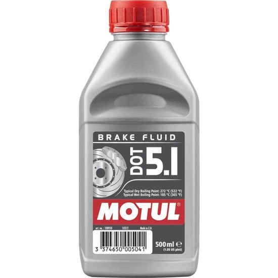 Motul Dot 5.1 Brake Fluıd Fren Hidrolik Yağı 500 Ml