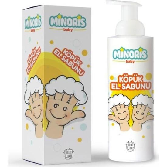 Minoris Baby Organik Köpük El Sabunu