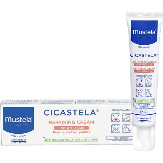 Mustela Onarıcı Bakım Kremi Cicastela Repairing Cream 40ML