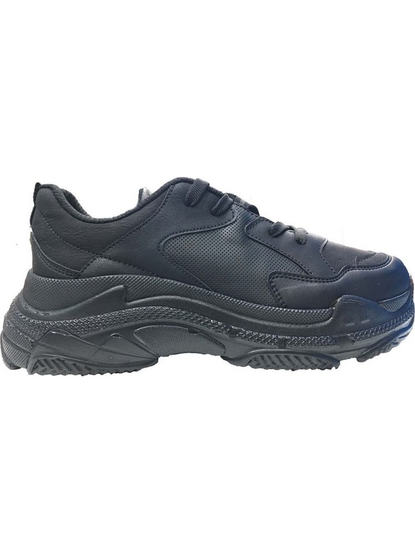 Mille K063 Valerya Bayan Günluk Ve Yürüyüş Spor Ayakkabı Siyah