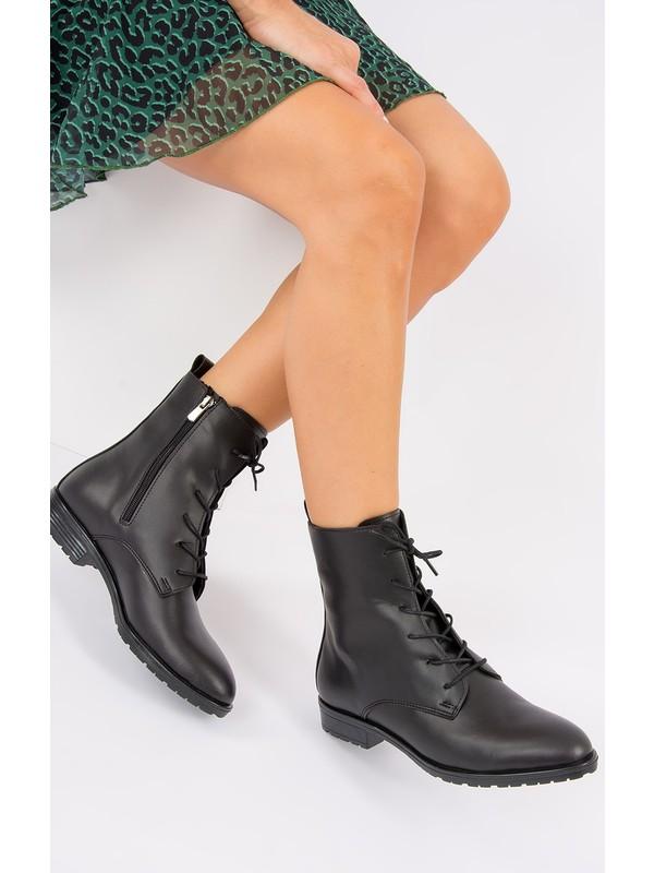 Fox Shoes Siyah Kadın Bot E288496109