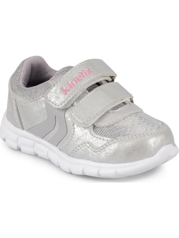 Kinetix Pagos 9Pr Gümüş Kız Çocuk Sneaker Ayakkabı