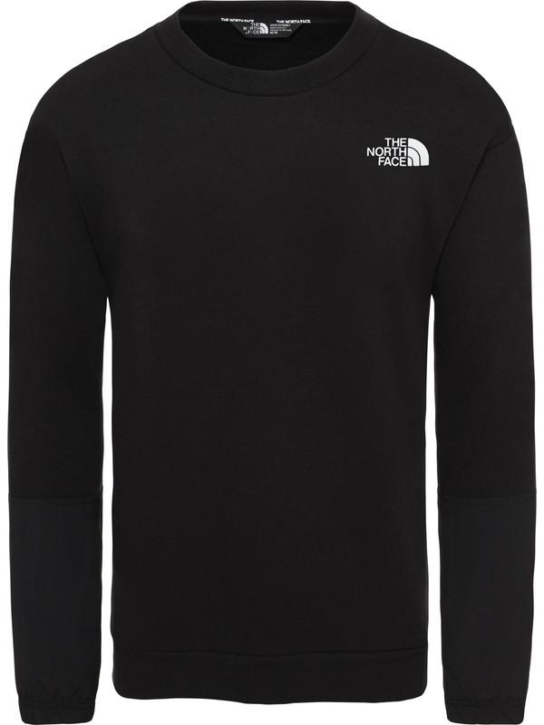 The North Face Graphic LS Erkek Sweatshirt Siyah