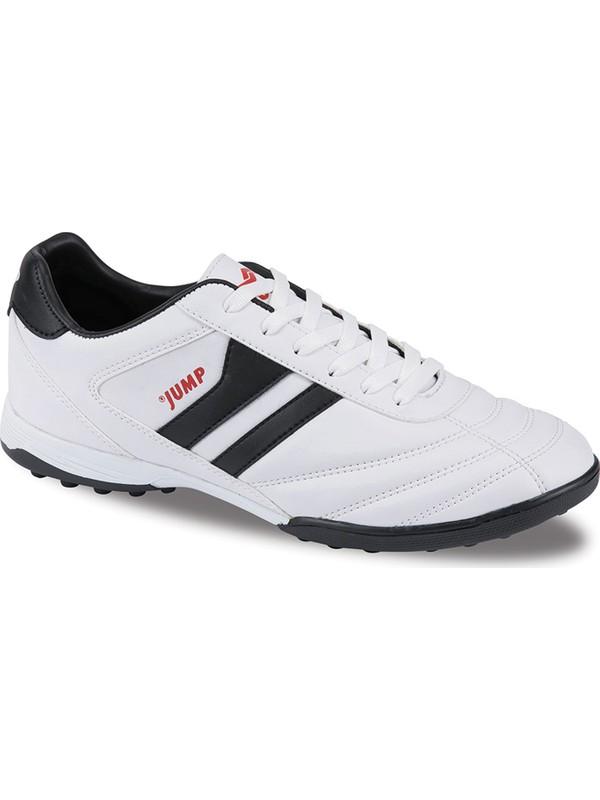 Jump Beyaz Erkek Halı Saha Ayakkabısı 24594-A-Beyaz