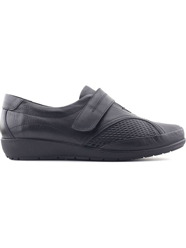 Evida 2589 Hakiki Deri Kadın Ayakkabı