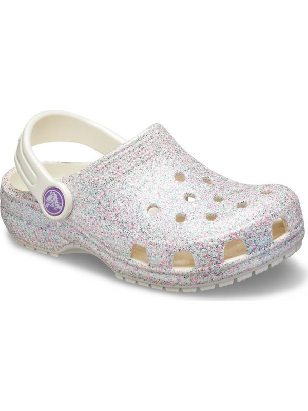 Crocs 205441-159 classic Glıtter Clog Çocuk Sandalet Terlik