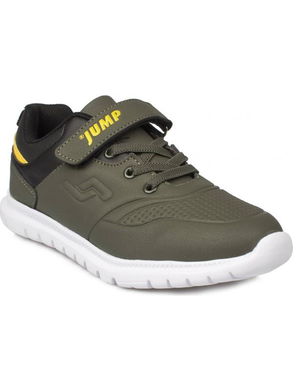 Jump 24209P Cırtlı Casual Haki Çocuk Ayakkabı