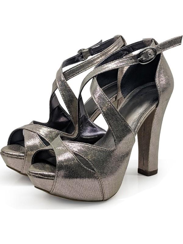 BB Shoes Aria Abiye Dore (Altın) Renk