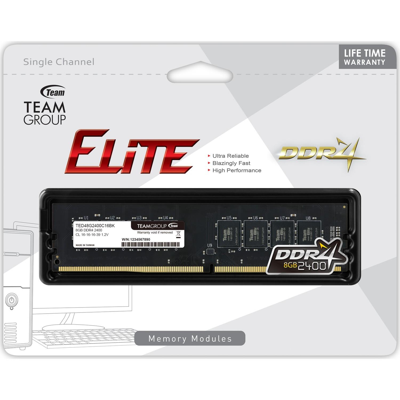 8GB Team Elite (1x8GB) DDR4 2666MHz CL16 Siyah Ram (Bellek)