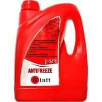 Glatt Organik Kırmızı Antifiriz -52 C 3 Litre ( 2019 Üretim)