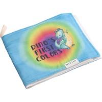 Miujoy Organik Kumaş Oyun Kitabı - Dino ile Renkleri Öğreniyorum