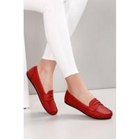 Gönderi® Kırmızı Kadın Babet 30201