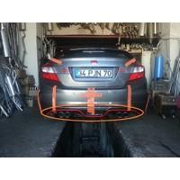 BTG Honda Civic Fb7 Modulo Custom Plastik Boyasız Arka Ek