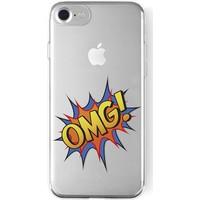La Vie La Vie Soft Case Print Apple İphone 6 / 6s / 7 / 8 R.Vergish Omg! - Tasarım Kılıf