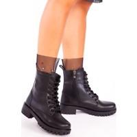 Ayakkabı Havuzu Bot Siyah Cilt