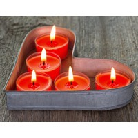 Duvar Tasarım DLC 1056 Candle Led Canvas Tablo - 70x50 cm