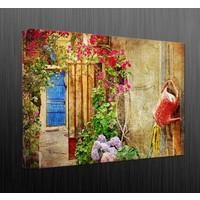 Duvar Tasarım DC 2065 Mediternian Kanvas Tablo - 50x70 cm