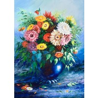 Duvar Tasarım DC 2150 Oil Paint Kanvas Tablo - 50x70 cm