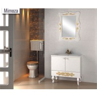 Samir Mimoza Banyo Dolabı 90 cm