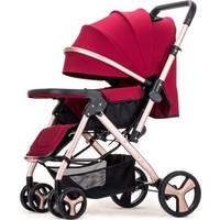 Willbabydan Çift Yönlü Bebek Arabası Model 2305 Renk: Kırmızı