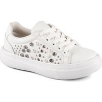 Vicco 969.19Y.432 Patik Beyaz Kız Çocuk Kalın Tabanlı Sneaker