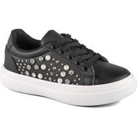 Vicco 970.19Y.433 Filet Siyah Kız Çocuk Kalın Tabanlı Sneaker