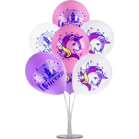 Kidspartim 7 'li Balon Stand Demeti Unicorn