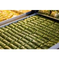 Hüseyinoğlu Baklava-Börek Fıstıklı Dürüm Baklava Büyük Tepsi 3500 gr