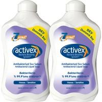 Activex Antibakteriyel Sıvı Sabun Hassas 2x1,5lt