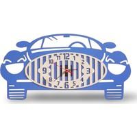 Id Clock Dekoratif Ahşap Duvar Saati