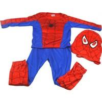 Evistro Spiderman Örümcek Adam Çocuk Kostümü 3-5 Yaş