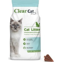Clear Cat Marsilya Sabunu Kokulu 10 kg İnce Taneli Bentonit Kedi Kumu