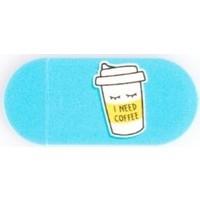 Funsylab Kamera Kapatıcı I Need Coffee Mavi