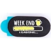 Funsylab Kamera Kapatıcı Weekend Loading Siyah