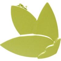 Perde Bağlama Aparatı Metal Çiçek 4'lü Paket Perde Tokası