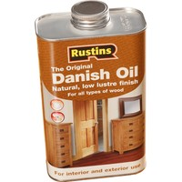 Rustins Danish Oil Ahşap Yağı 1 lt