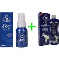 Joy Sprey + JOy Su Bazlı Kayganlaştırıcı 200 ml Kokusuz ve Aromasız Masaj Jeli