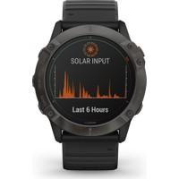 Garmin Fenix 6x Pro Solar Akıllı Saat - Siyah