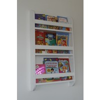 Emdief Home Duru Serisi 3 Raflı Montessori Kitaplık Çocuk Odası Kitaplığı
