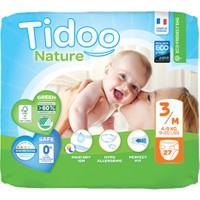 Tidoo Nature Bebek Bezi 3 Beden Numara 4-9 kg 27 Ekolojik Antialerjik