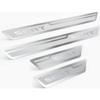 Seat Gümüş Kapı Eşiği, Kapı Karşılama 4'lü Set
