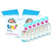 Uni Baby Çamaşır Deterjanı 1800 ml - 6 Adet
