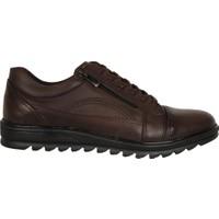 Dropland 5177 Kahve %100 Deri Kışlık Erkek Sneaker Ayakkabı