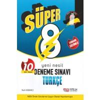 Nitelik Yayınları Süper 8. Sınıf Yeni Nesil Türkçe 10 Deneme Sınavı