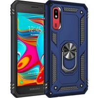 Zore Samsung Galaxy A2 Core Kılıf Vega Silikon - Mavi