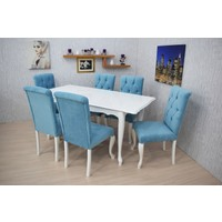 Corner Life Giydirme Sandalye Mutfak Masa Takımı
