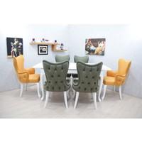 Corner Life Kelebek Sandalye Mutfak Masa Takımı
