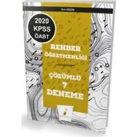 KPSS ÖABT Rehberlik Öğretmenliği Çözümlü 7 Deneme